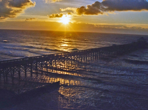 Folly Pier Sunrise